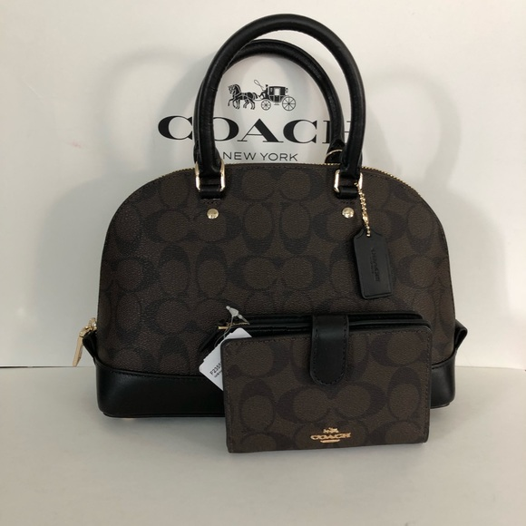 b6252848390 Coach Bags | Mini Sierra Satchel In Signature Wallet | Poshmark
